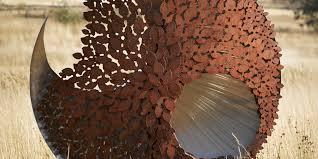 kooper tasmania australia birdbaths garden sculptures gates screens public art fauna flora sculpture