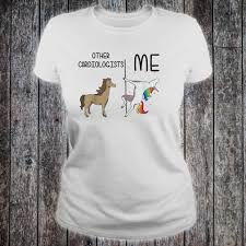 Cardiology T Shirt Designs Other Cardiologists Me Unicorn Dance Shirt