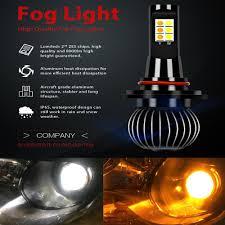 Best Fog Light For Snow 12v 9005 Hb3 9006 Hb4 Led Car Fog Light Auto Car Headlight Led Bulbs Daytime Running Light Driving Lamp Best Fog Lights For Trucks Best Led Driving
