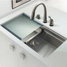 stainless steel undermount sink. Houzer Novus Undermount Single Bowl Stainless Steel Sink E