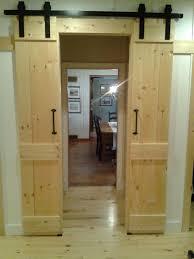 interior barn door style diy interior sliding door1 diy