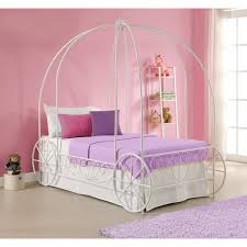 DHP Princess Carriage Twin Metal Bed - Free Shipping Today - Overstock.com  - 16325204