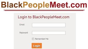 BlackPeopleMeet.com Login