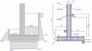 Small Picture Retaining Wall Design Spreadsheet Retaining Wall Design
