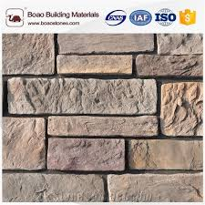 whole artificial faux imitation stacked stone wall covering stone siding indoor wall stone panel