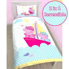 duvet covers toddler childrens duvet covers uk peppa pig amp george pig duvet quilt covers childrens