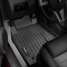 WeatherTech Floor Mats FloorLiner for Ford Mustang - 2005-2010 ...