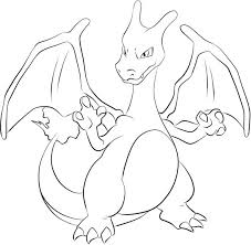 Pokemon Coloring Pages Charizard Face Paint Charizard Get Ready To