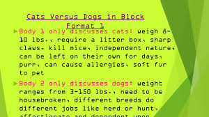 compare and contrast essays iuml micro inform reader about the 6 cats versus dogs