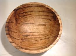 wooden bowls red maple