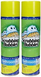 scrubbing bubbles bathroom cleaner aerosol lemon 20 oz 2 pk