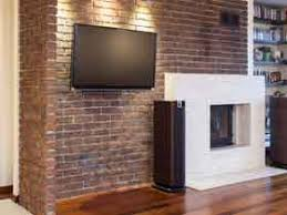painting a fireplace whitePainting a Brick Fireplace  Home Tips for Women