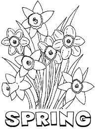 Make your world more colorful with printable coloring pages from crayola. Coloring Pages Spring Season Nature Printable Coloring Free Flowers Drawing Harcourt Math Grade