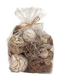 Decorative Sphere Balls Amazon Bag of Natural Fiber Decorative Balls Spheres Orbs 14