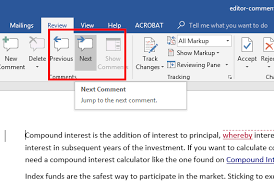2016 Microsoft Word Remove Editor Comments | Papercheck