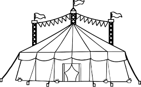Small Picture Amusement Circus Tent Coloring Page Wecoloringpage