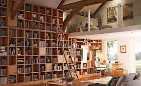 cool library furniture. Contemporary Home Library Furniture With Neat Arrangement : Old Custom Design Cool R