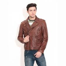 theo ash men s leather jackets classic biker leather jacket india theoandash com