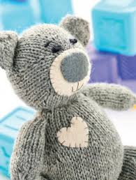 Free Knitting Patterns To Download Extraordinary Oliver The Teddy Free Knitting Patterns Kids Patterns Knitting