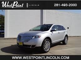 Lincoln MKX for Sale in Houston, TX - West Point Lincoln