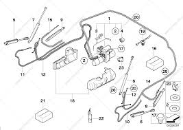 Electrohydraulic folding top parts for bmw 1' e88 135i n54