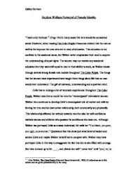 the color purple page murderthestout the text color purple in both novel by alice walker and