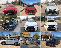2019 Lexus Color Line North Park Lexus At Dominion Blog