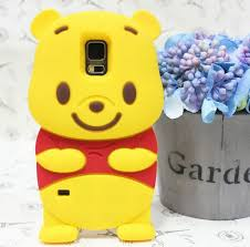 samsung galaxy s5 3d cases. s8 plus cute 3d cartoon winnie bear silicon rubber case cover for samsung galaxy s5 s6 3d cases
