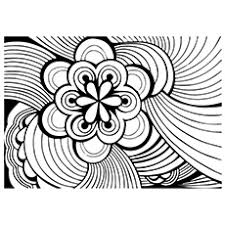 Small Picture Abstract Coloring Pages Free Printable MomJunction