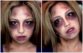 simple easy halloween makeup zombie walking dead person look you