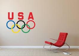 usa olympics sticker decal many sizes wall truck car wall vinyl logo sa88