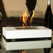 sunnydaze el fuego ventless tabletop fireplace bio ethanol