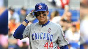 Cubs' Anthony Rizzo steps up to serve ...