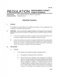 Cover Letter Substitute Teacher Cover Letter Substitute Teacher Resume Samples