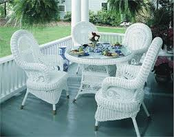 Endearing White Wicker Patio Furniture Outdoor 17 Best Ideas About