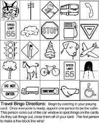 Small Picture To Play Travel Bingo 1 Print all 5 Travel Bingo pages Each