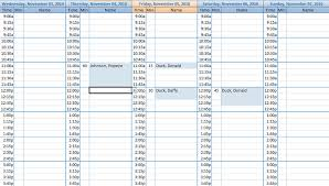 Excel 15 Minute Schedule Template Free Excel Contact Appointment Scheduler Free Contact Scheduler