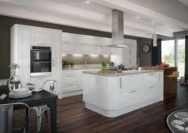 High Gloss White Kitchen Glossy Kitchen Cabinets View Full Size Twotone Modern Kitchen