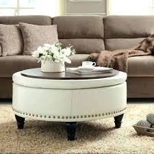 ottoman coffee table round ottoman side table round large storage ottoman coffee table railing stairs and designs grey wood tables small wooden side