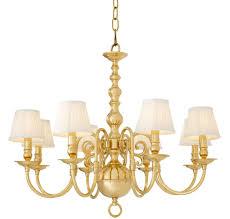 Casa Padrino Luxus Barockstil Kronleuchter Gold ø 85 X H 75