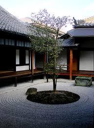 Terrace and Garden: Indoor Japanese Courtyard Garden Decoration - Japanese  Garden