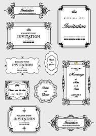 飾りフレームエレガントな飾り枠素材ファイル3 Design Graphic