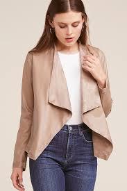 bb dakota vegan leather reversible jacket