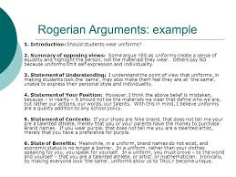 structuring and analyzing arguments the classical toulmin and  26 rogerian arguments example