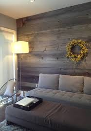 Barn Board Feature Walls farmhouse-living-room