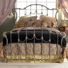 Hamilton Iron Bed by Wesley Allen