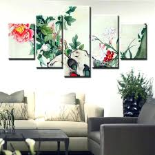 home office artwork. Enchanting Painting Elegance Peony Artwork Print Nice Quality Canvas  For Home Office Decoration Best
