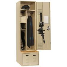 lyon valor law enforcement locker with uniform