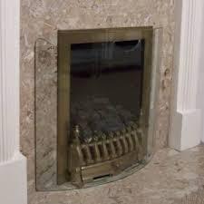 glass fire screen.  Fire New Curved Clear Glass Fire Guard Firescreen Throughout Screen D