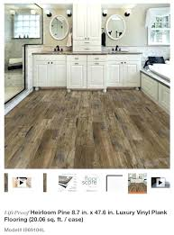 lifeproof vinyl flooring rigid core vinyl flooring heirloom pine in x luxury plank general installation lifeproof